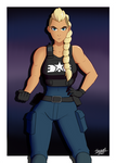 Estel Aguirre - Streets of Rage 4 by thewwe4