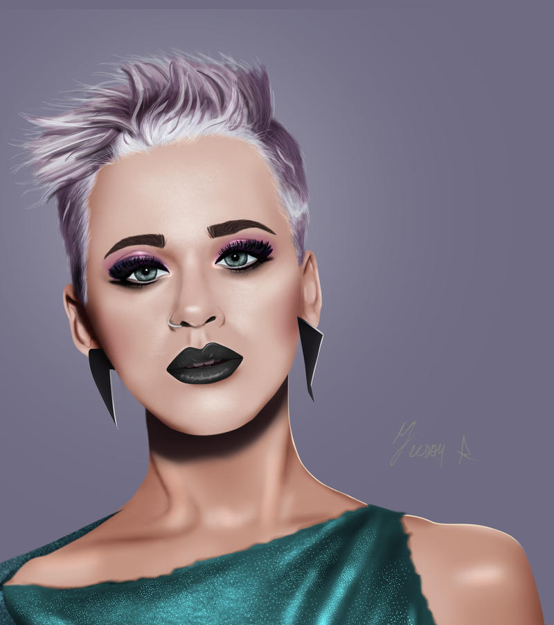 Katy Perry Portrait by JeisonRodriguez
