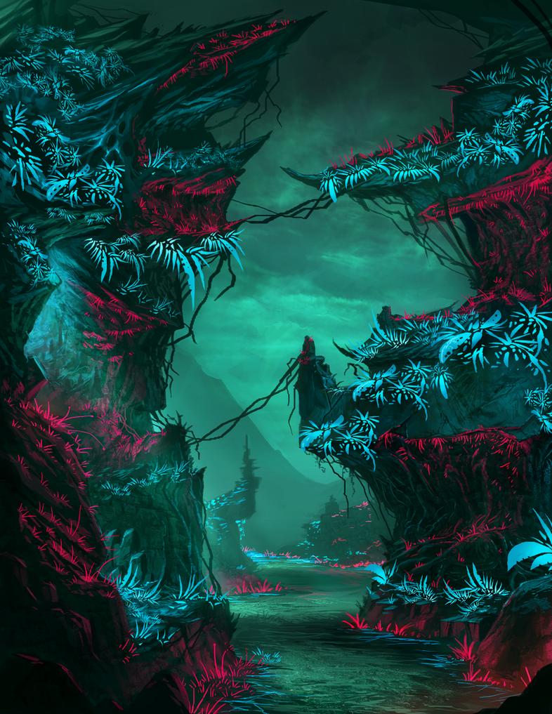 Alien Environment by AtTheSpeedOfFetus