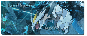 Fury of kyurem by Lordkazeh