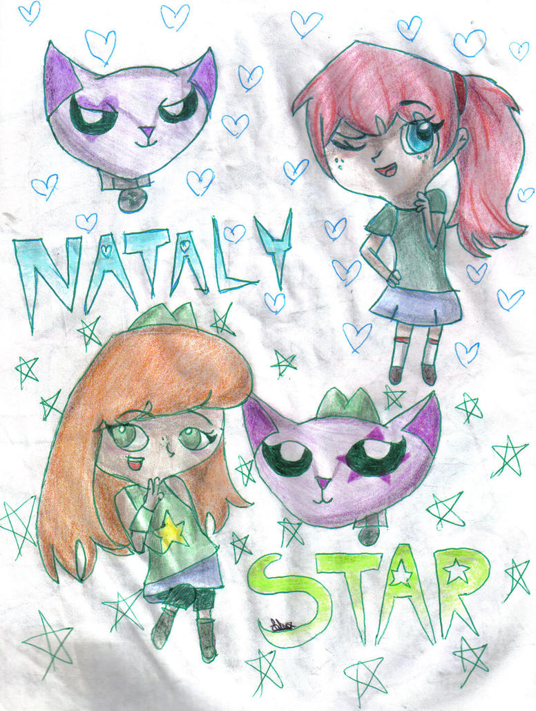 Nataly and Star-SISTERS by StarGureisu