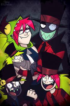 Villainous - The Hats Family