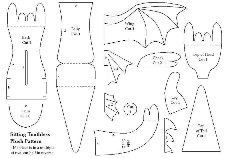 Micro Fury Plush Pattern by gaernavi