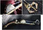 Steampunk pirate pistol