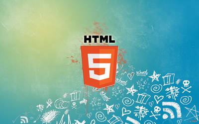 HTML 5 Wallpaper by bqra