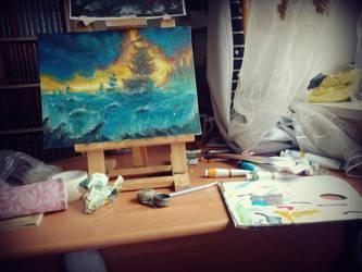 At work by RinaRish