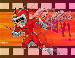 Henshin A Go Go Baby by ElectricDawgy