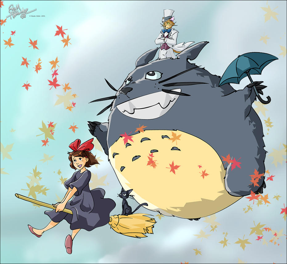 Studio Ghibli Goodness by ElectricDawgy