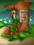 Robin Hood colored