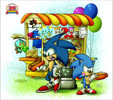 Happy 20th Anniversary Sonic