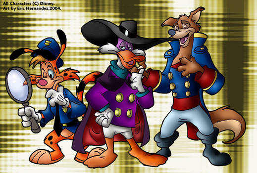 The Disney Afternoon gang