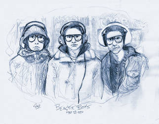 Heroes Series: The Beastie Boys by ElectricDawgy