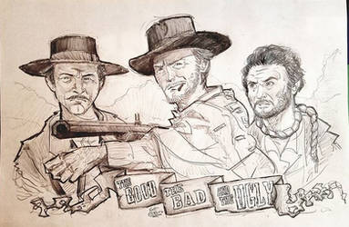 The Good, The Bad and The Ugly by ElectricDawgy