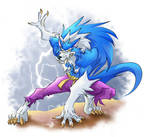 English Werewolf by ElectricDawgy