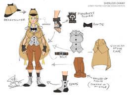 Sherlock Cammy Design