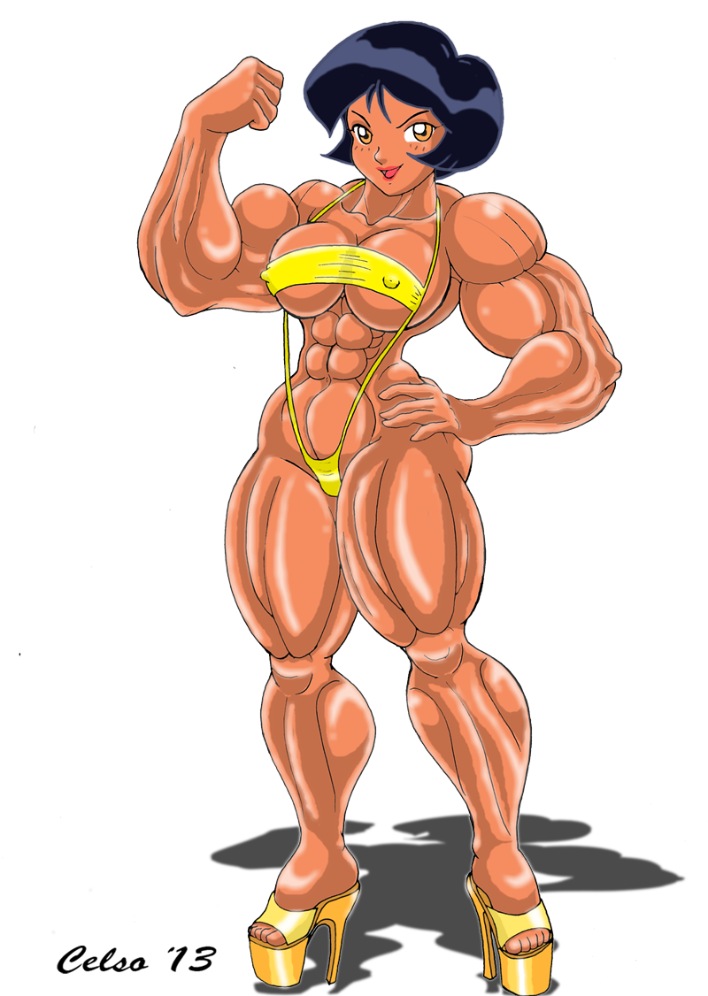 muscle Alex by Celso33