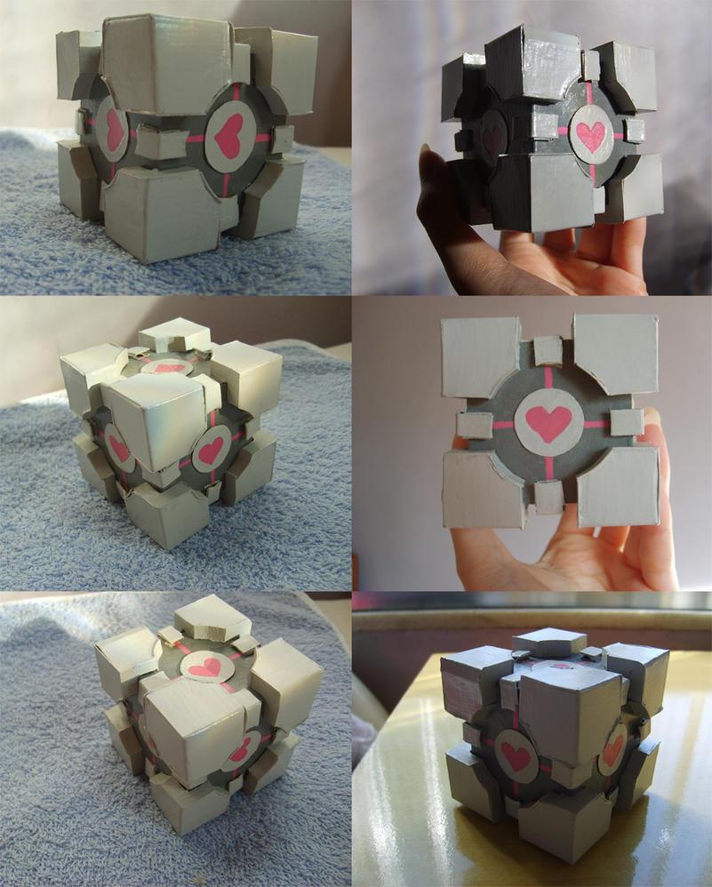 Companion Cube by DeeDee42