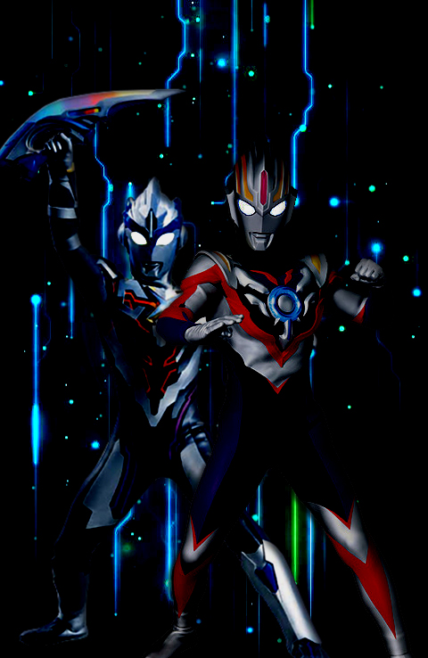 Ultraman X And Ultraman Orb By Drigama844 On Deviantart