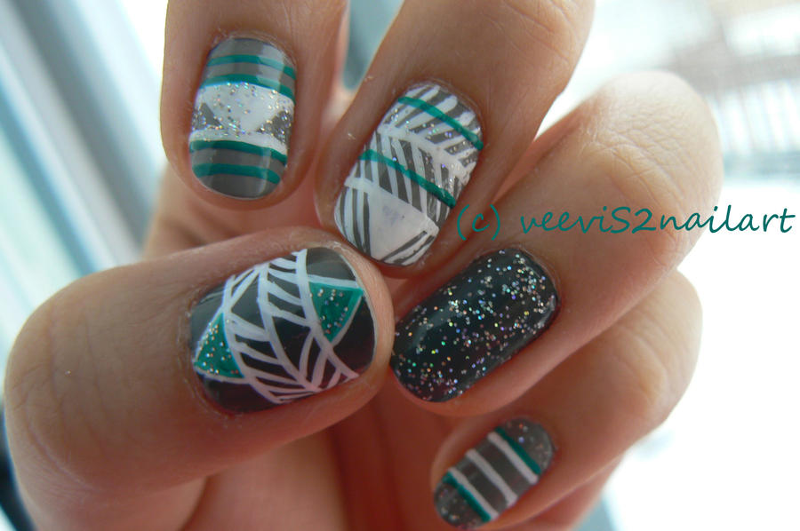 Native nail art fever by VeeviS2 on DeviantArt