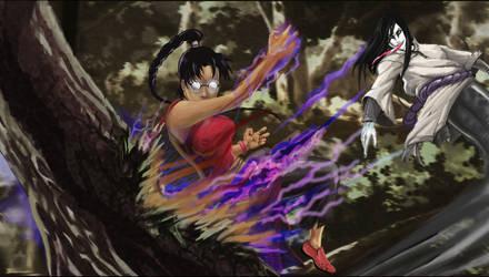 Kishu Osore vs Orochimaru