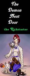 Divine Blood: The Demon Next Door - Kickstarter Ad by Thrythlind