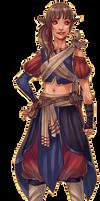 Meesha Canidae - Caravan Merchant by Thrythlind