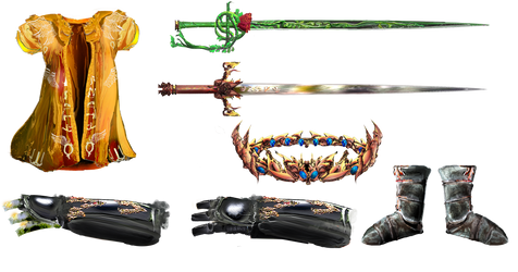 Armor, Weapon and Items by Random223 by Thrythlind