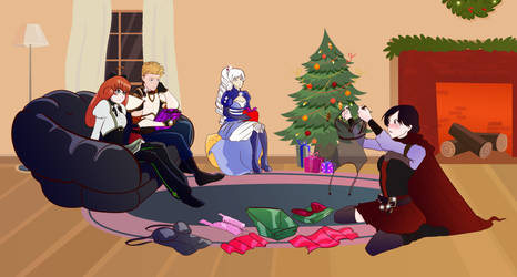 RWBY - When your SOs Coordinate Gifts