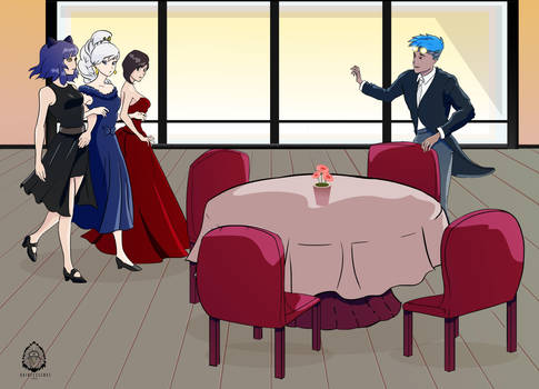 RWBY - When your SOs take you out for the night