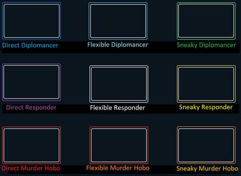 Alignment Chart Parody: Diplomancy or Murder Hobo?