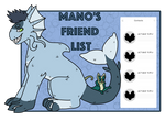 Mano's Friend List