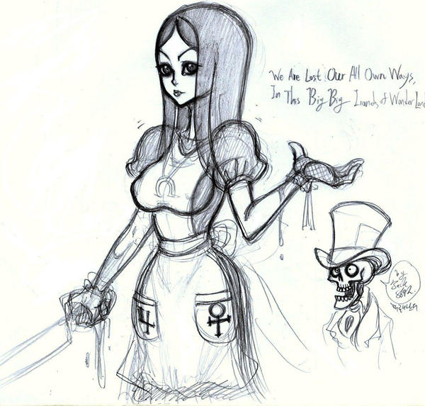 Quick American McGee's Alice by jack8642