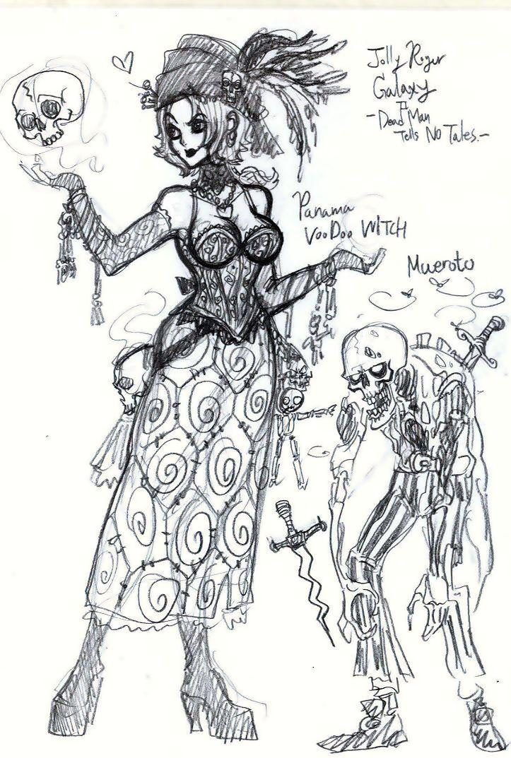 Voodoo Witch and Her Zombie by jack8642