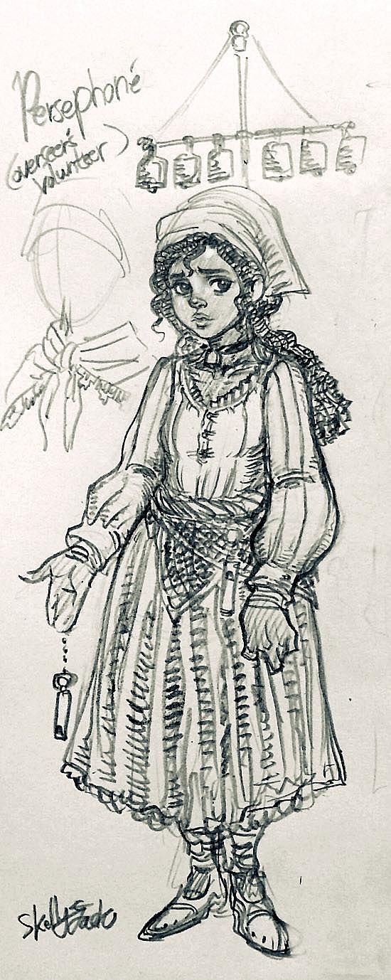 Persephone (Overseer's Volunteer attire) by jack8642
