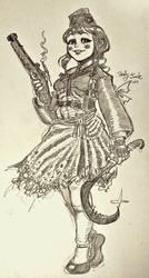 Mossa's Hanbok Girl by jack8642