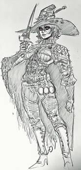 Gossamer, the mercenary