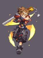Sora Kingdom Hearts 3 by heromedley