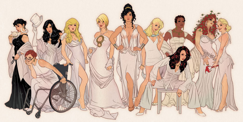 Women of DC by AdamHughes