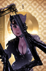 Catwoman Cover 74 by AdamHughes