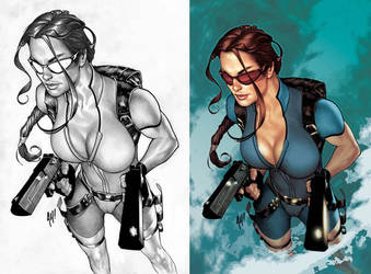 Tomb Raider 33 by AdamHughes