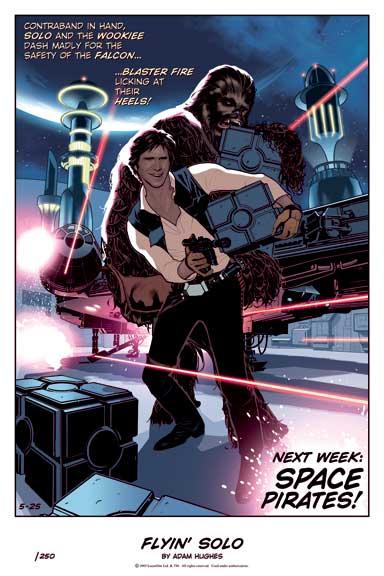 C3 Star Wars Print by AdamHughes