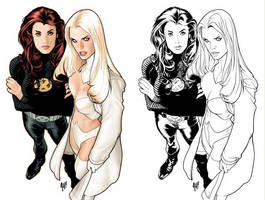 Jean and Emma by AdamHughes