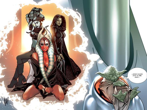 I need my clan! Jedi_Babes_by_AdamHughes