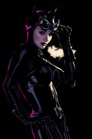 Catwoman Cover 46 by AdamHughes