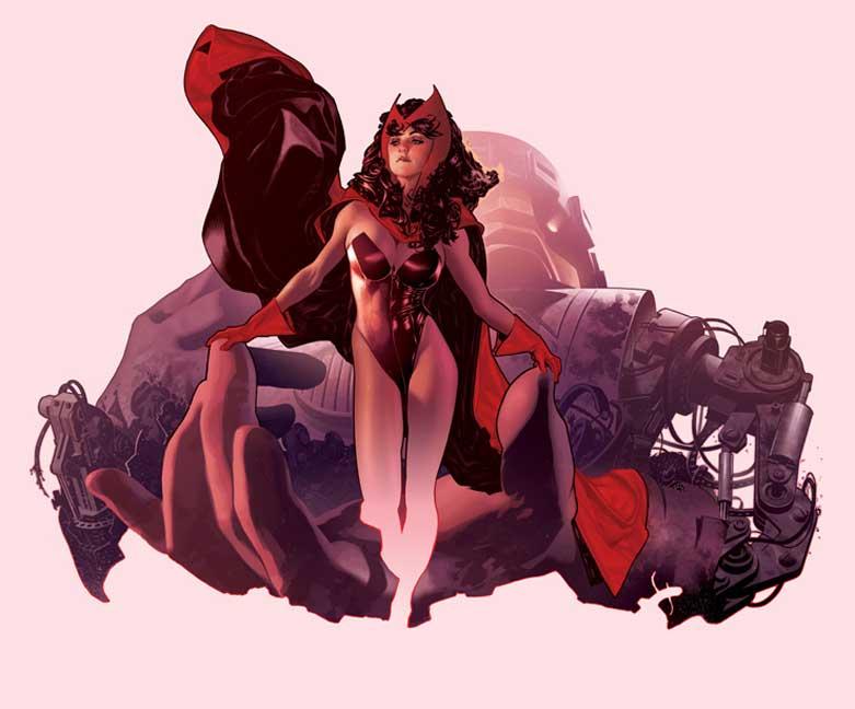 Scarlet Witch by AdamHughes