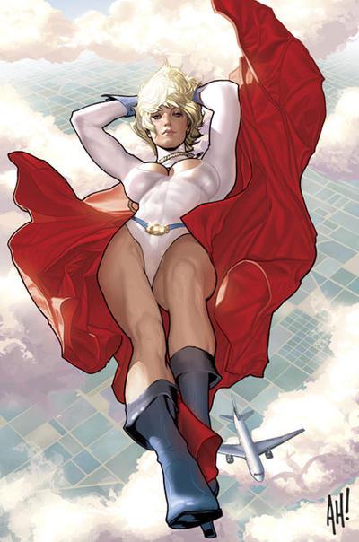 Power Girl by AdamHughes