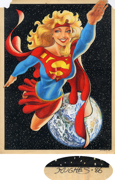 Supergirl, 1986 by AdamHughes