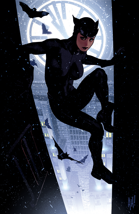 Catwoman 64 by AdamHughes