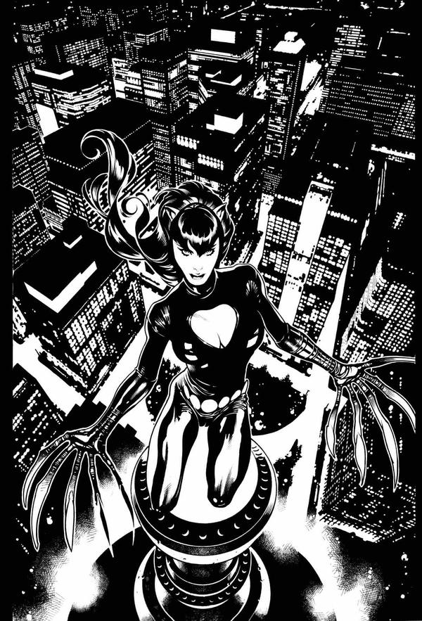 Stan Lee's Catwoman Cover