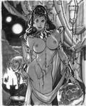 Dejah Thoris Con Sketch by AdamHughes